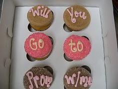 If no one asks me to Prom.... I will ask someone this way, because I am a baker✨