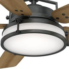 Aged Steel Ceiling Fan 59113 At The Home Depot   Mobile