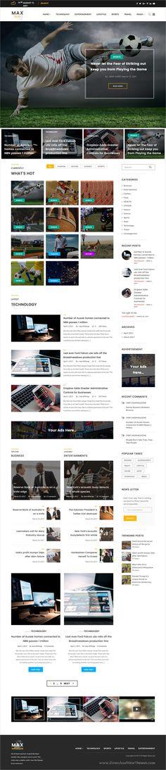 Revalia - Multi-Concept WordPress Blog & Shop Theme