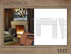 modern fireplace surrounds | mid century modern | pinterest