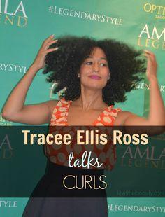 Actress Tracee Ellis Ross & Hair Tips
