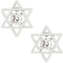 Star of David Stud Earrings R599-E50012R-S01