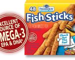 $.75 Off Fisherboy Fish Sticks