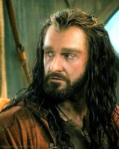 Richard Armitage as Thorin Oakenshield in The Hobbit Trilogy Tauriel, Aragorn, Legolas, Kili, Hobbit Art, O Hobbit, Tolkien Hobbit, Tolkien Books, Concerning Hobbits