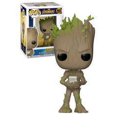 Funko POP! Marvel Avengers: Infinity War #297 Groot With Video Game (2018 Movie) - New, Mint Condition. https://www.supportivepc.com/funko-pop-marvel-avengers-infinity-war-297-groot-w OR https://www.supportivepc.com/collectibles-pop-culture-toys/avengers-infinity-war/ #Funko #FunkoPop #Marvel #Avengers #InfinityWar #AvengersInfinityWar #Collectibles