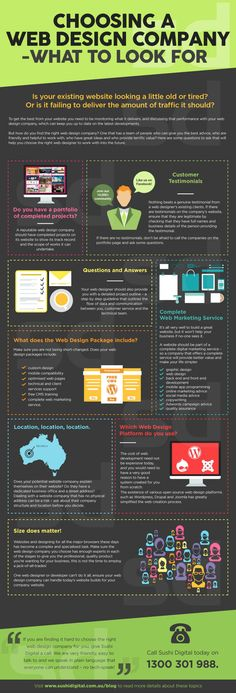 Choosing a #WebDesign Company - What to Look For