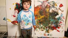 Comment réaliser un Jackson Pollock - YouTube