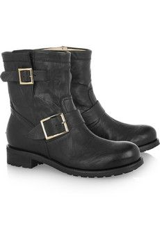 jimmy choo biker boots...the most comfy boots ever!
