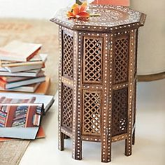 Moroccan style - accent table