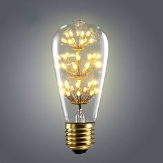Find More LED Bulbs & Tubes Information about Retro Vintage Starry LED Edison Bulbs E27 220V ST64  Incandescent Bulb Squirrel cage Filament Bulb Bar Pendant Edison Lights,High Quality bulb projector,China bulb d2s Suppliers, Cheap bulb 5w from Zhongshan East Shine Lighting on Aliexpress.com