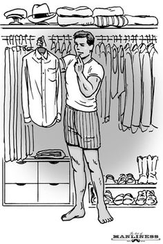 How to Build an Interchangeable Wardrobe - The Art of Manliness » Dress & Grooming