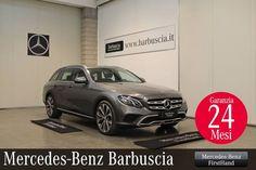 Mercedes-Benz Classe E 220d S.W. 4Matic Auto All-Terrain Business Sport Garanzia #Firsthand 24 Mesi ALIMENTAZIONE diesel IMMATRICOLAZIONE 03/2017 CILINDRATA 1950 cc KM 28.136 Scopri maggiori dettagli  http://bit.ly/2GtcABs  VISIBILE PRESSO LA SEDE DI PESCARA