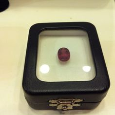 National Day RED n WHITE promo: Natural rubellite tourmaline 4.03 carats with cert.  Priced at $680