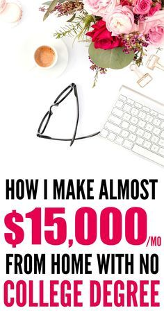 how to make money typing from home