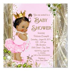 Ethnic Princess Tutu Pink Gold Child Bathe Card. >>> Look into even more at the picture