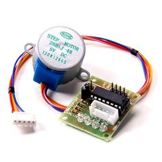 TOOGOO(R) 28BYJ-48 28BYJ48 DC 5V 4-Phase 5-Wire Stepper Motor with ULN2003 Driver Board Supporting the use of a direct plug and easy to use stepper motor used in the development board.  #TOOGOO(R) #CE