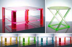Luxe Lucite: Colorful Creations by Alexandra Von Furstenberg now at Dahlgren Duck | Dallas Design District