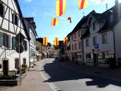 Kandern main street. I would give anything to be able to walk those streets again.