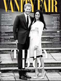 Prince Harry and Meghan Markle for Vanity Fair Magazine 2018
