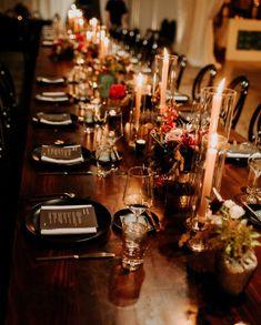 Somer Khouri & Lisa Costin (@acharmingfete) • Instagram photos and videos  #acharmingfete #realweddings #outdoorwedding #weddinginspriration #decor #florals #englishgarden #garden #velvet #texture #englishroses @dahlias#acharmingfete #realweddings #moody #woodtables #candlelit #flowers #floral English Roses, Dahlias, Wood Table, Real Weddings, Florals, Lisa, Table Settings, Velvet, Texture