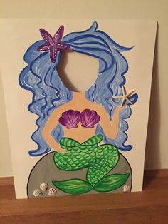 Mermaid cutout