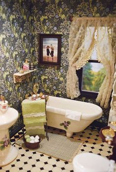 The Doll House Image result for doll house vintage bathrooms