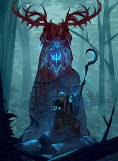 ArtStation - drust jaina, Roman Ankenbrandt - Camp Tutorial and Ideas Dark Fantasy Art, Fantasy Artwork, Fantasy Kunst, Fantasy World, Dark Art, Fantasy Character Design, Character Concept, Character Inspiration, Character Art