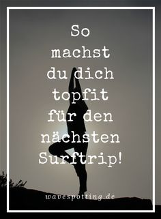 Surfen || Fitness || Tipps || Surf Tips || Ideen