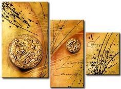 Obrazový set, abstraktné obrazy,dekorácie, moderné obrazy, obrazy do bytu, obrazy