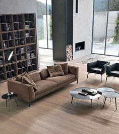 Stylish and Functional Floors 2014 Trends parqueting floors latest trends Wooden Bookcase, Bookcase Wall, Sofa Furniture, Living Room Furniture, Furniture Design, Wood Interiors, Minimalist Home, Luxury Living, Home And Living