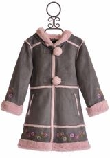 Rothschild's cutest cute for sure! the large pom poms take this coat past the top