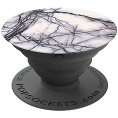 PopSockets Expanding Stand and Grip for Smartphones and Tablets White Marble
