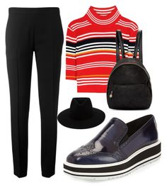 """""""Wing Tips"""" by gracefully-artistic on Polyvore featuring Prada, Chloé, Alessandra Rich, rag & bone and STELLA McCARTNEY"""