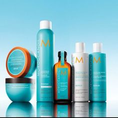 Moroccan Oil hair care products - shampoos are paraben, phosphate and sulfate…