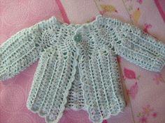 """Tejer: """"El arte de crear con tus manos"""".: Chaleco a crochet para bebe de 0 a 3 meses"""