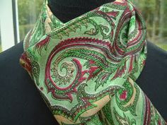 Beautiful 100% silk scarves available from www.kathrynruddsemporium.com