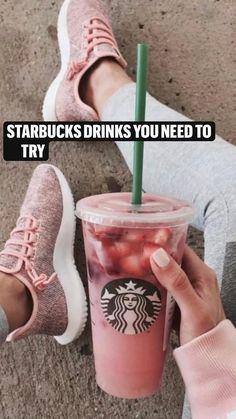 Starbucks Drinks, Starbucks Recipes, Frappe, Coffee Shop, Adidas Sneakers, Secret Menu, Sweets, Hacks, Foods