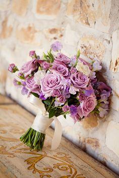 beautiful soft purple bouquet.  Photo by Mirelle Carmichael Photography, mirellecarmichael.com