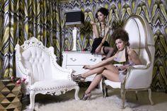 Liv chic photo shoot for Elle Decor!  www.livchic.com Baroque Furniture, Furniture Decor, Modern Baroque, Take A Seat, Neoclassical, Elle Decor, Interiores Design, Photoshoot, Chair