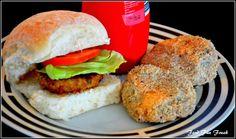 Homemade Chicken Burger Patties ~ Food Fun Freak