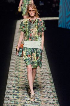 Kenzo Spring 2013 High Fashion Dresses cfd44a141