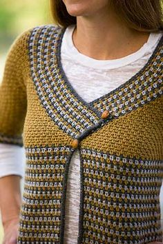 Issue 64 – Ashlar Crochet Cardigan - Classic Elite Yarns