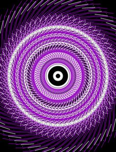 Purple Spiral   ……..STAND ON THE BOTTOM FLOOR AND LOOK UP TO THE TOP FLOOR………YOU MIGHT BECOME DIZZY, BUT WHAT A PURPLISH FEELING………………ccp