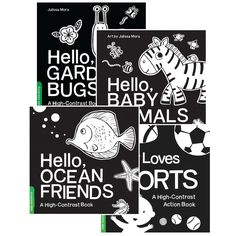 These books are important building blocks for babies' communication skills, making connections between images on a page and real world. Making Connections, Communication Skills, Contrast, Classroom, Books, Livros, Livres, Book, Libri