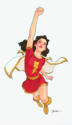 Mary Marvel by Joshua Middleton