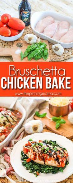 Bruschetta Chicken- Simple recipe