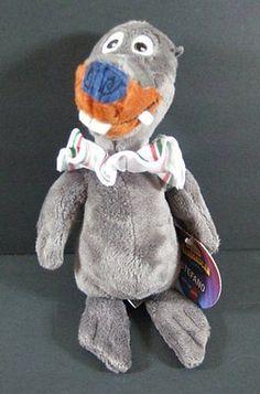 "Madagascar STEFANO # Italian Sea Lion Plush Dreamworks 9"" Stuffed Toy B273"