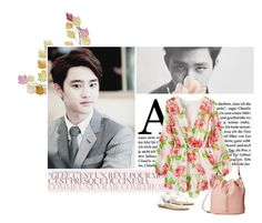 """""""Kyungsoo"""" by julia-ngo ❤ liked on Polyvore featuring Woodstock Chimes, Blowfish, Elizabeth and James, Summer, beach, EXO, kyungsoo and Squishy"""