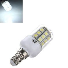 10X E14 3.2W LED White 5050 30 SMD Corn Light Lamp Bulbs AC 220V