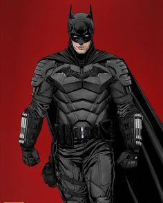 Batman Poster, Batman Comic Art, Im Batman, Batman Armor, Batman Suit, Dc Comics Characters, Dc Comics Art, Batman Concept Art, Armadura Do Batman